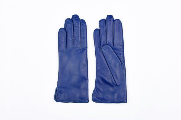 Classic woman gloves in cashmere lined nappa leather
