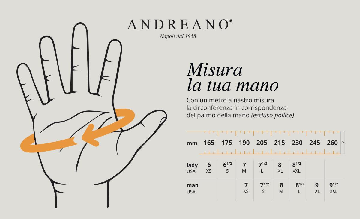 Misura la mano | Andreano
