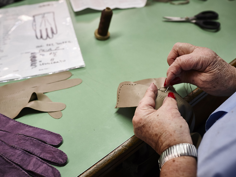 Handmade gloves